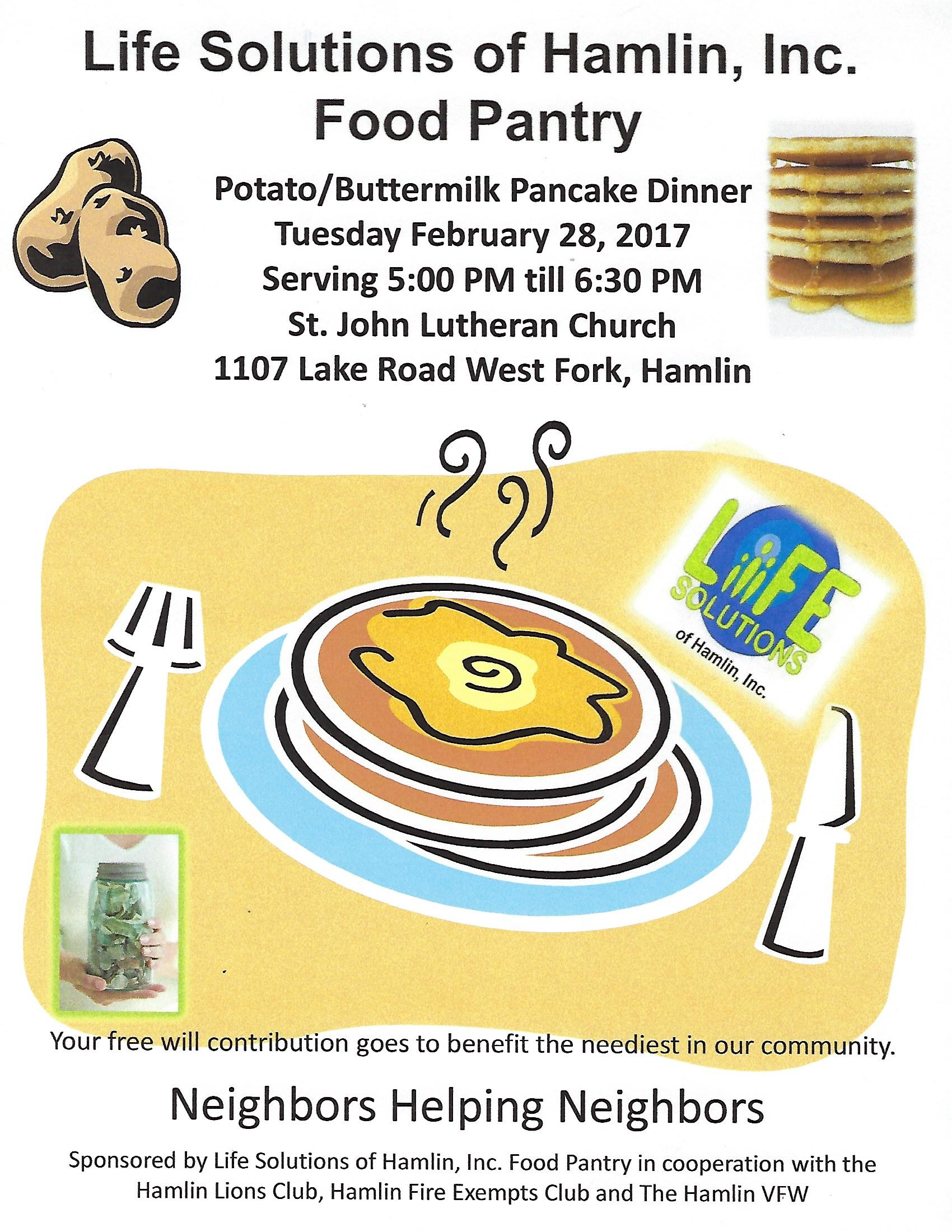 life solutions pancake breakfast
